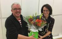 Brian Walsh OBE and Professor Judith Lamie
