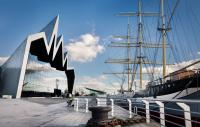 Photo of the Riverside Museum in Glasgow