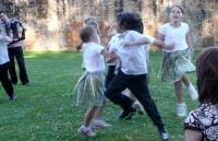 Photo of children dancing