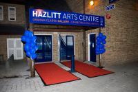 Image of Hazlitt Arts Centre entrance