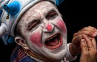 Photo of man as a jester