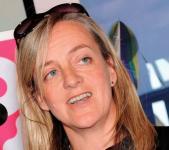 A photograph of Carol Maund