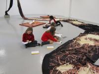 Image of children at gallery