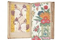 Photo of book of silks