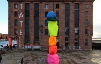 Front view of the Tate Liverpool