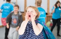 Photo of child shouting