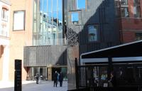 Photo of the exterior of the arts centre