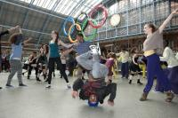 Image of the Big Dance at St Pancras