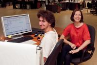 Image of colleagues in office