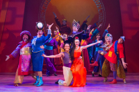 Production shot of Aladdin