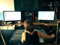 Aleah Morrison-Basu in her studio