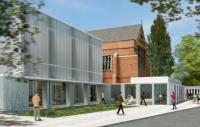 Artist's impression of new arts centre