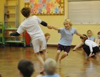 Image of dance workshop in school