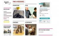 Screenshot of the AccessArt website