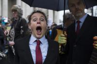 Photo of a woman shouting