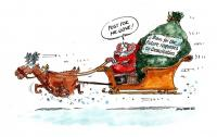 Image of Christmas cartoon