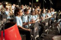 Image of children performing