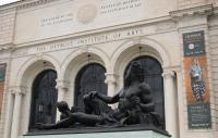 Exterior of the detroit institute of art