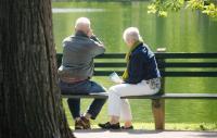 Photo of elderly couple