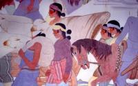 Photo of Navajo Mural by Gerald Nailor