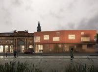 Artist's impression of new Creation Centre