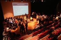 Image of people at symposium