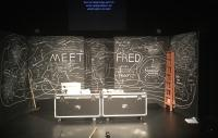 Photo of stage set