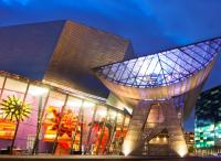Exterior of The Lowry