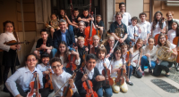 Image of children's orchestra