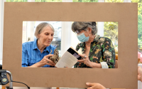art consultation in a care home