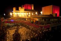 Photo of outdoor event at National Theatre