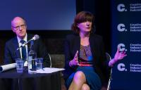 Photo of Nicky Morgan and Nick Gibb at CIF event