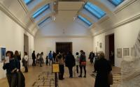 visitors attending Withworth Art Gallery