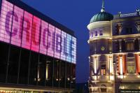Photo of Sheffield's Crucible theatre