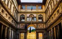 Photo of Ufizi Gallery courtyard