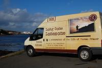 Photo of van on quayside
