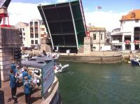 Image of brass concert at Weymouth Bridge