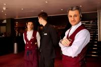 Image of front of house staff