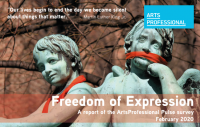 Freedom of Expression: A report of the ArtsProfessional Pulse survey