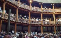 audiences at Shakespeare's Globe Theatre