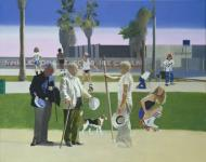 The Meeting, Or Have a Nice Day Mr Hockney, Peter Blake, Tate, 1981