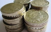 Photo of pound coins