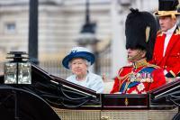 Queen Sad Prince Phillip