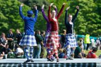 Photo of highland dancing