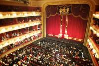 The auditorium at the Royal Opera House