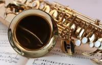 Photo of saxophone