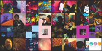 Montage of images related to WAC arts and media college