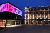 Photo of exterior of Sheffield Crucible