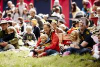 Photo of audience at festival
