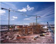 Image of Cardiff Bay building site